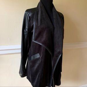 Calvin Klein Black Draped Jacket NWOT